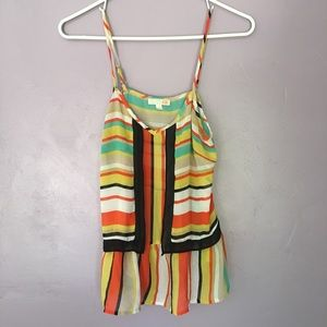 🌺Gianni Bini multi color tank size small